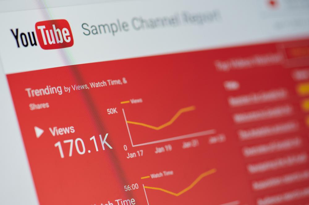 Youtube statistika