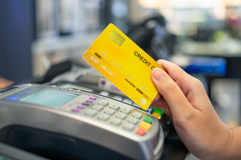 Atsiskaitymas kreditine kortele