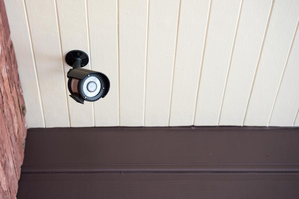 Sumontuota vaizdo kamera