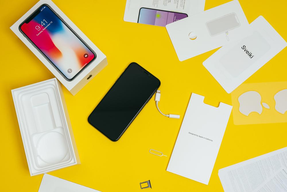 Iphone X lietuviška versija