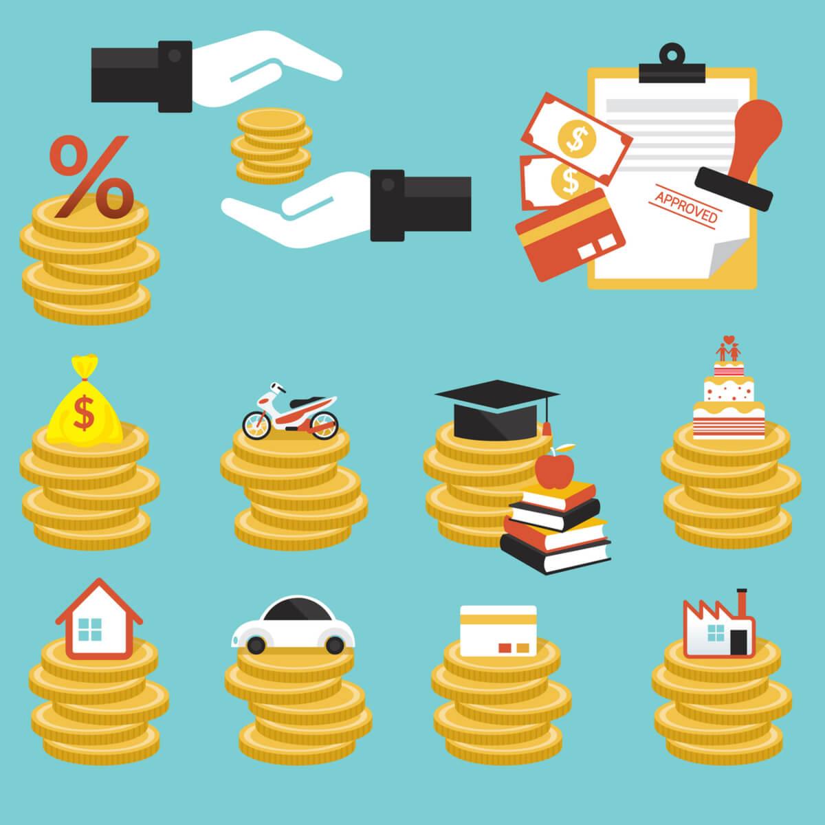 Ką reikia žinoti apie kiekvieną kredito rūšį