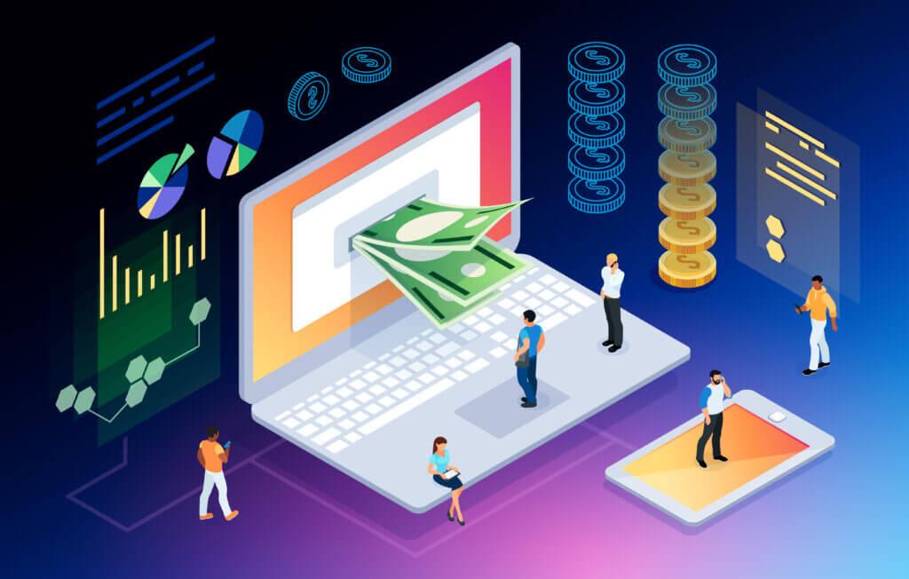Kaip uždirbti pinigų iš interneto?