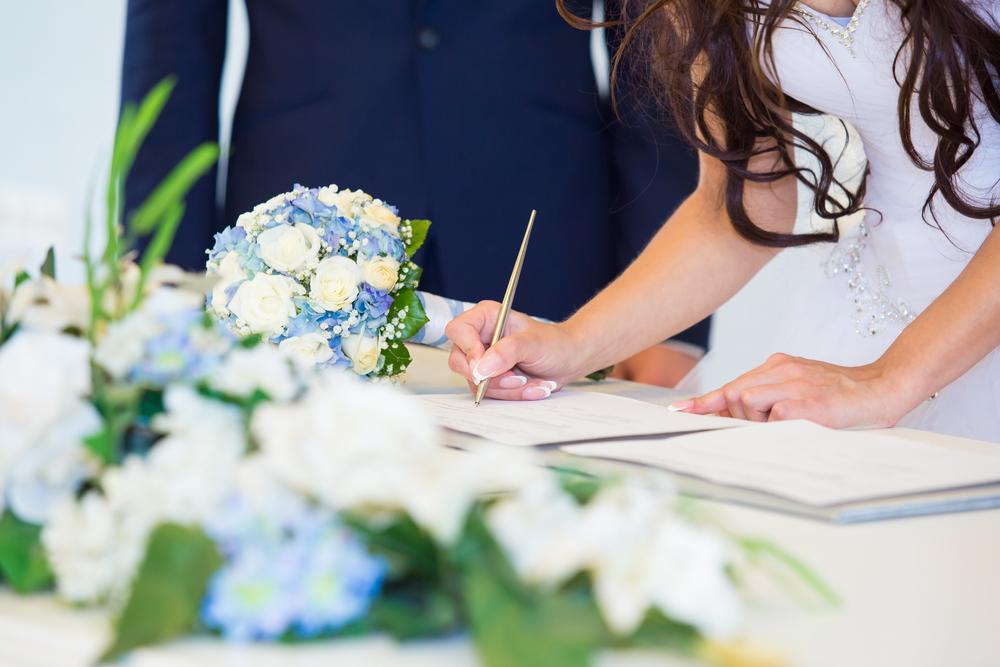 Vedybų sutarties dokumentai