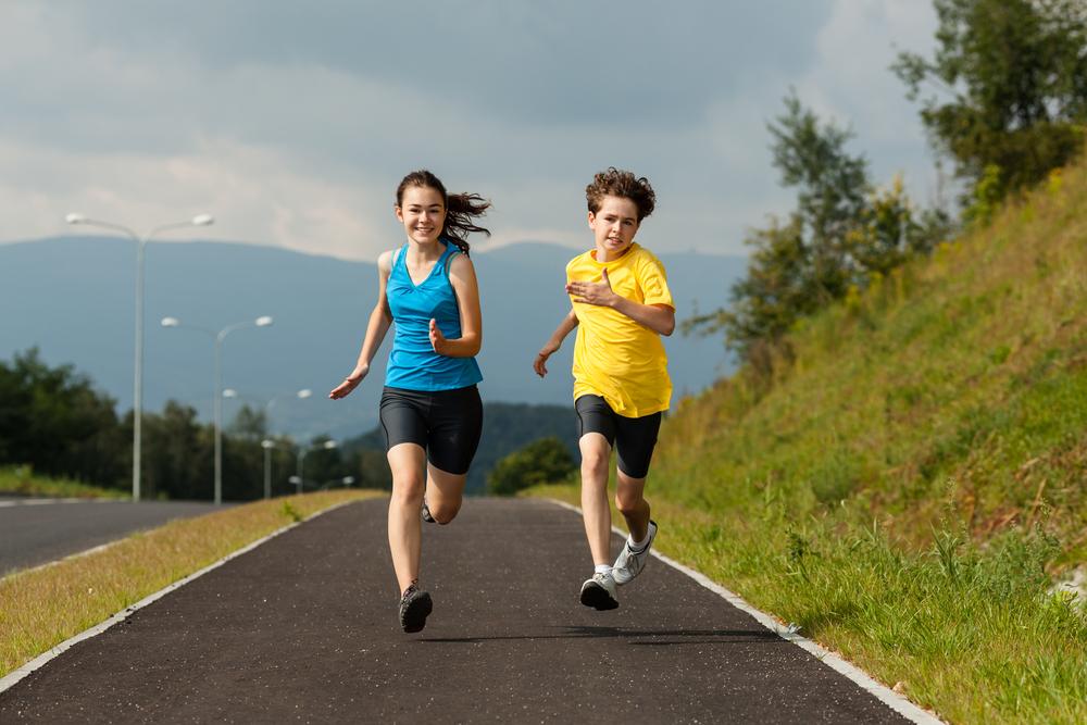 Vaikų bėgimas