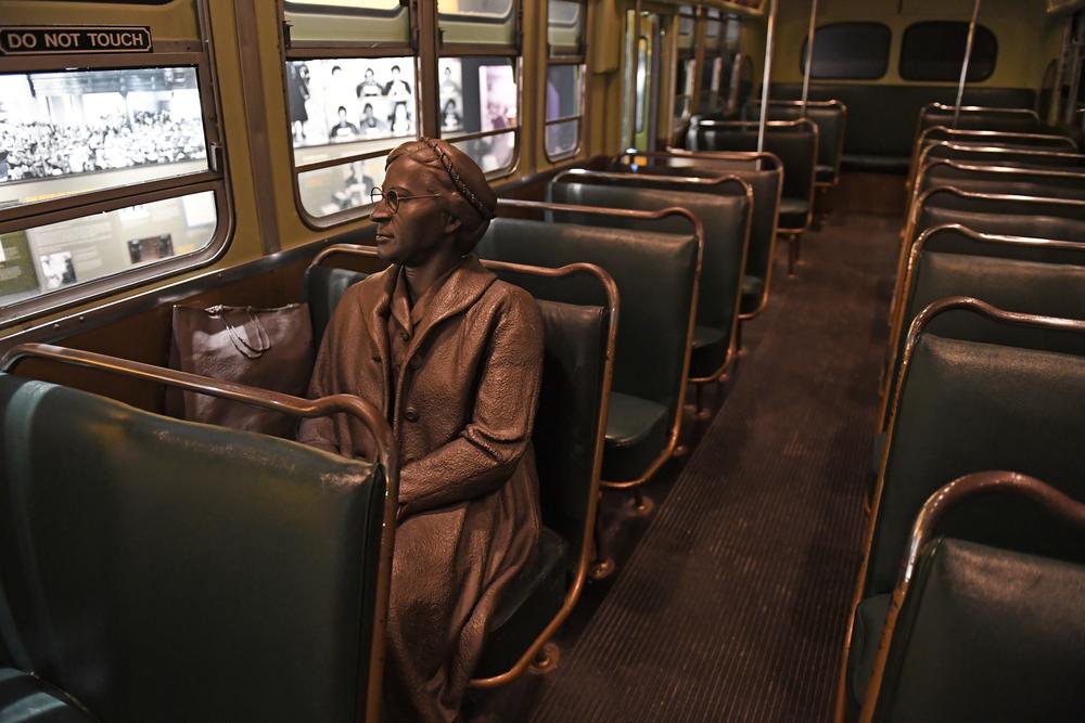 Būkite ryžtingi – Rosa Parks