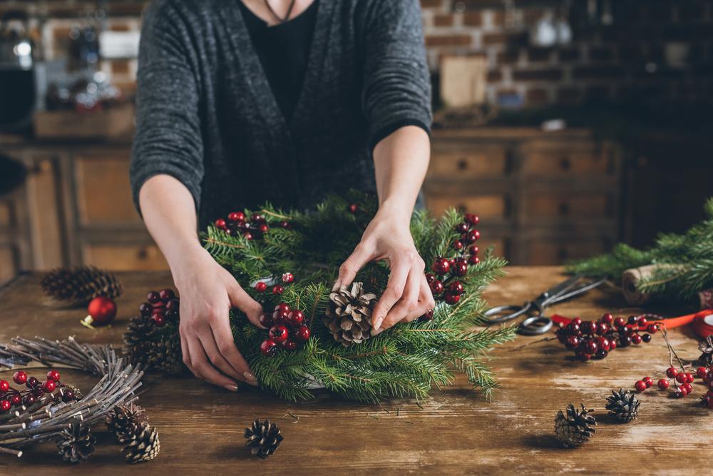 Pasigaminkite Kalėdų dekoracijas patys