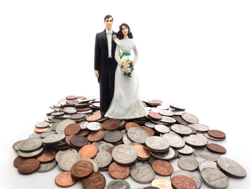 Finansų neaptarimas prieš vestuves