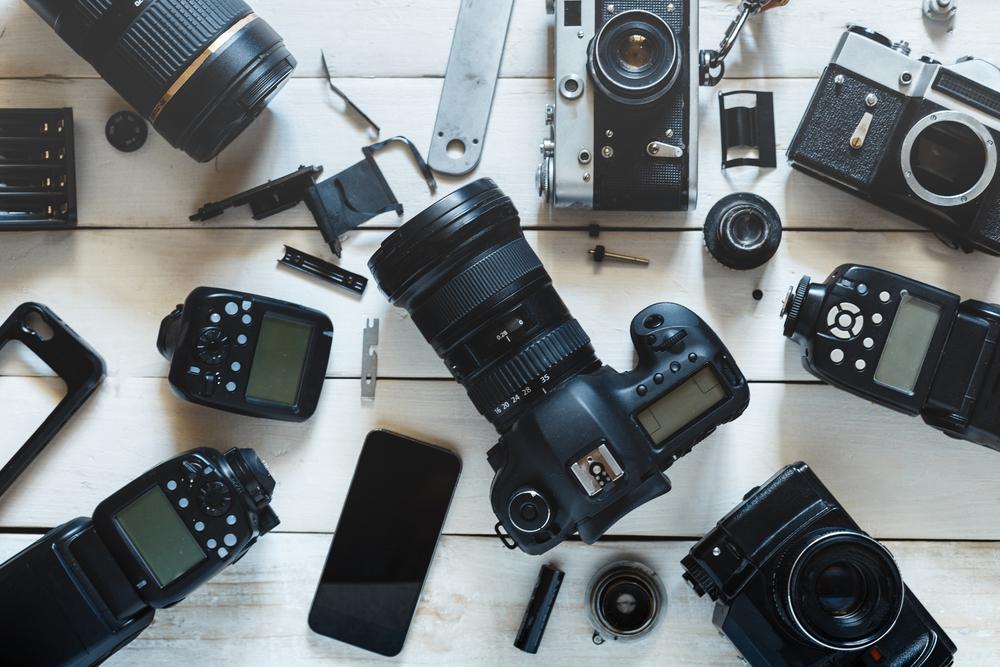 Fotoaparatų pasirinkimas