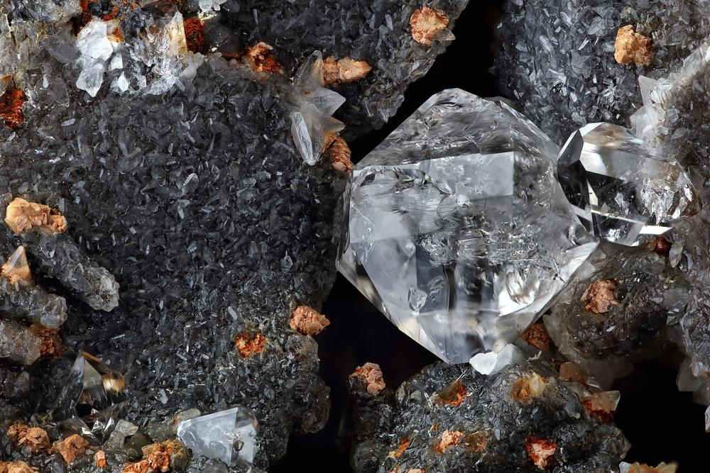 Natūralūs deimantai gamtoje