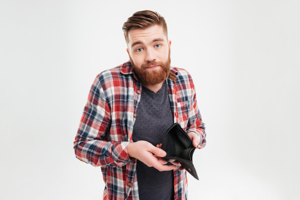 Ką daryti jeigu liko tuščia sąskaita