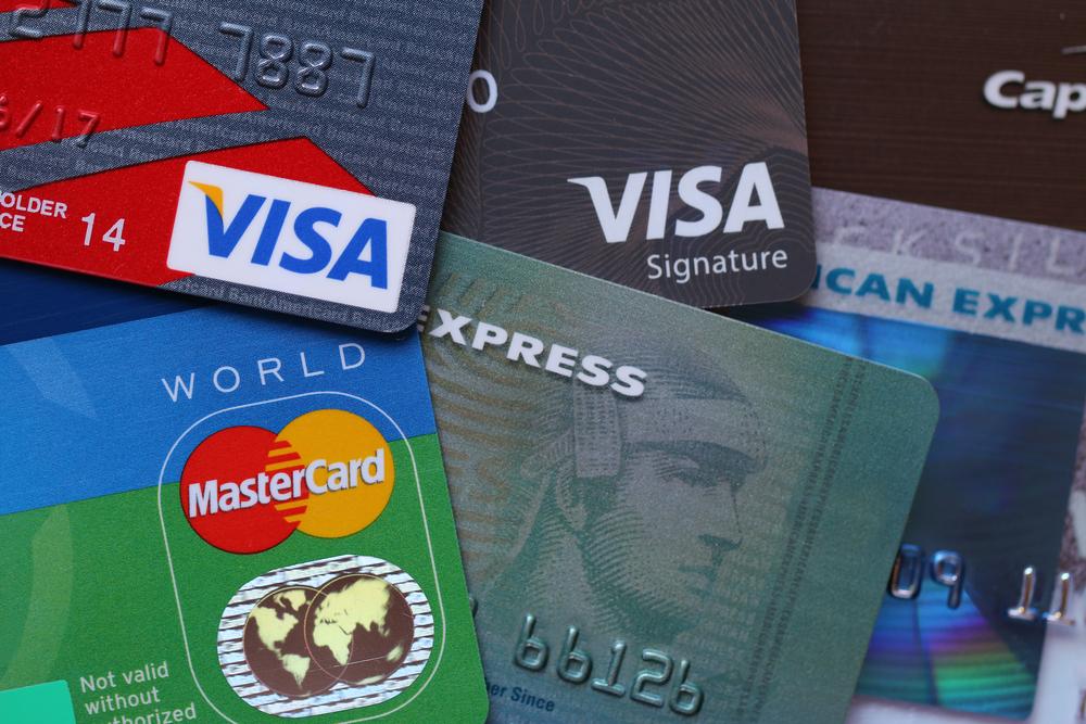 Banko kortelių rušys