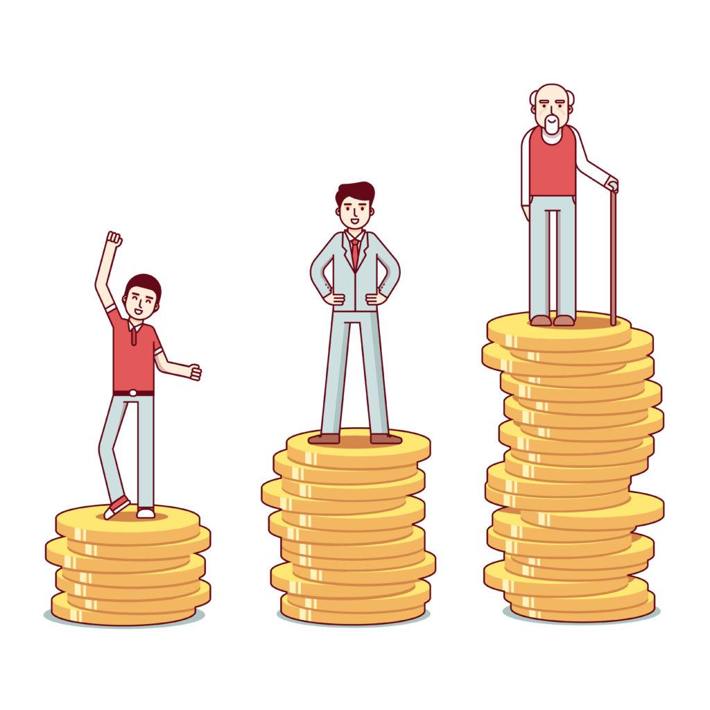 Darbo stažas ir pensijos dydis
