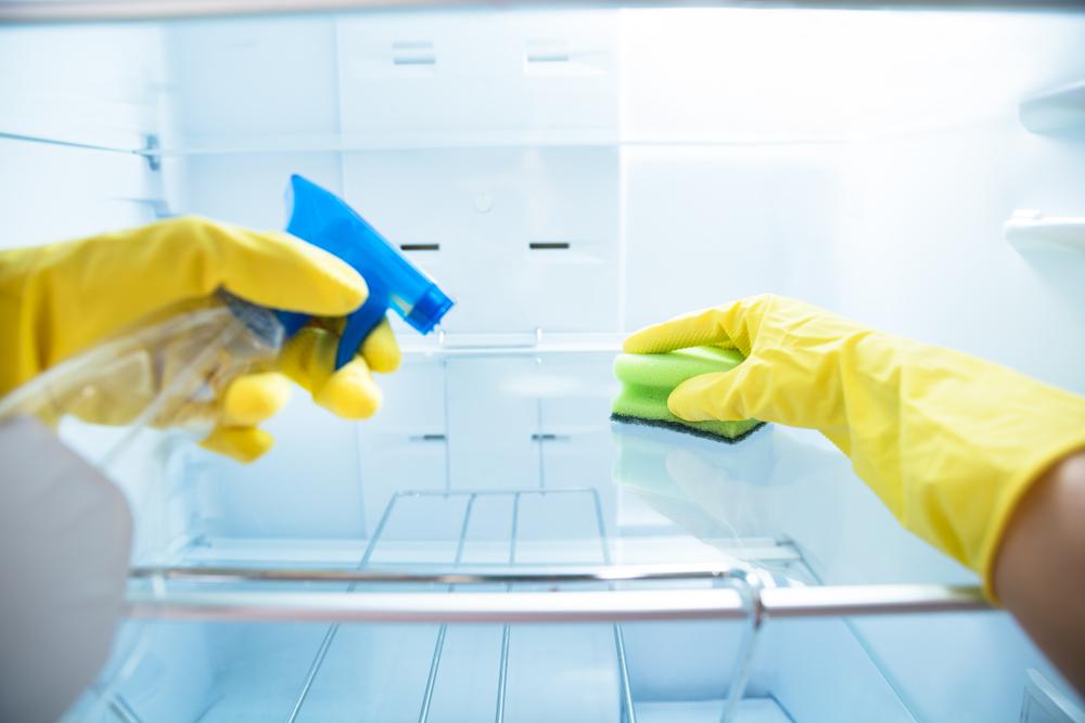 Šaldytuvo valymas