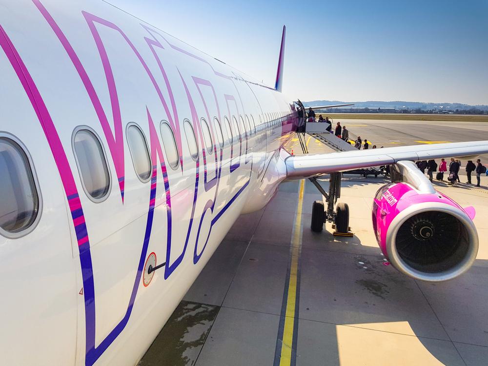 WizzAir įlaipinimas