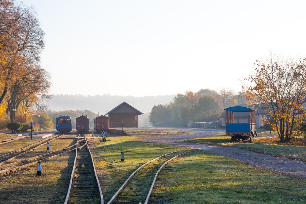 Traukinių stotis Anykščiuose