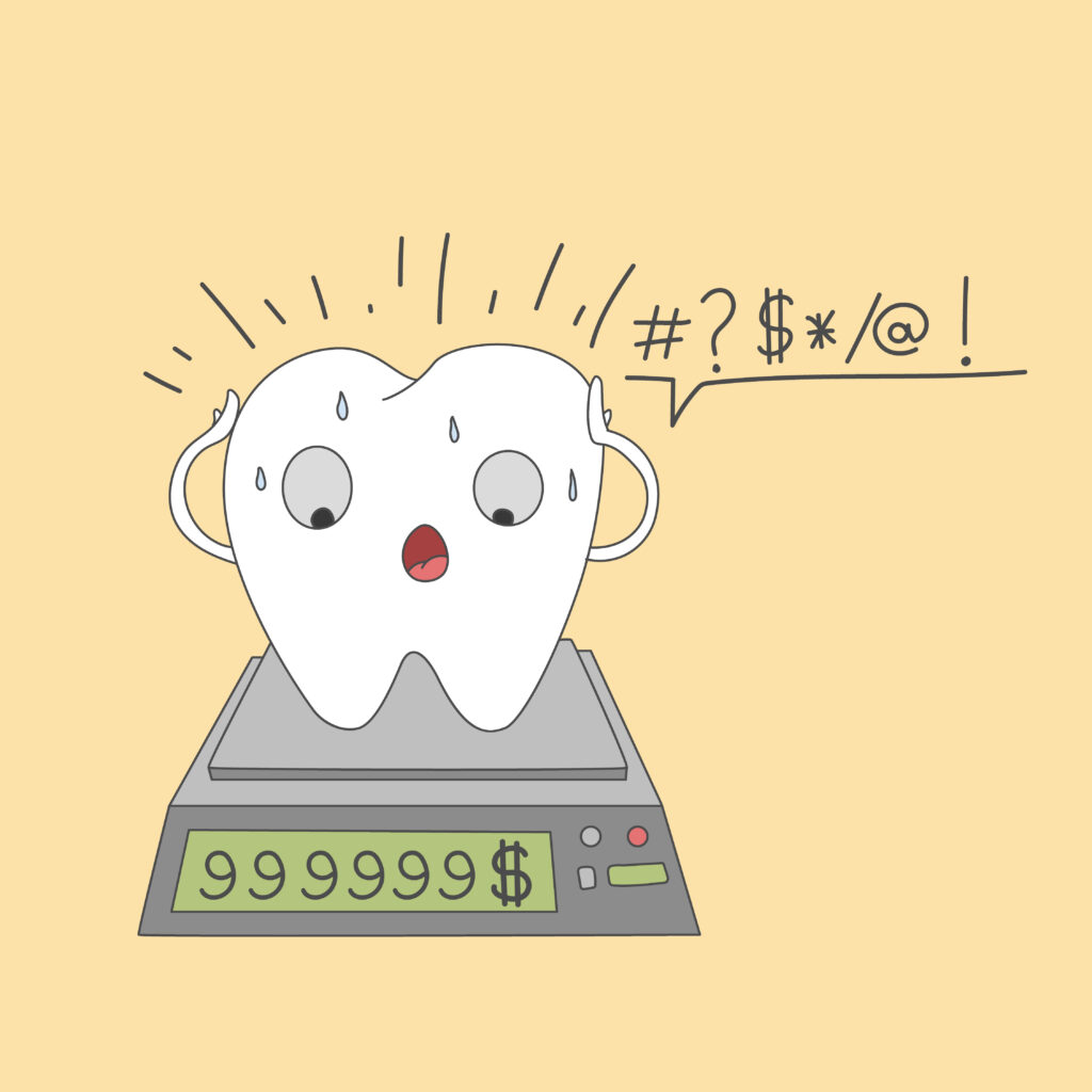 Didelės odontologijos kainos
