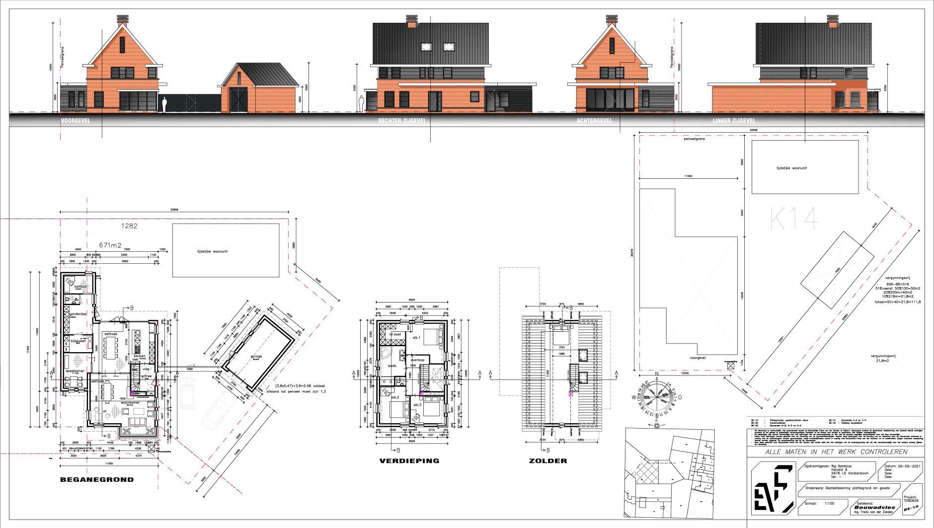 Nieuwbouw woning te Vorstenbosch