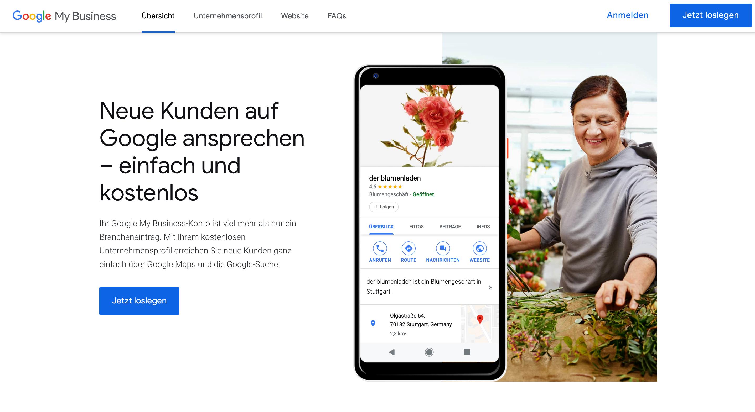 google my business image