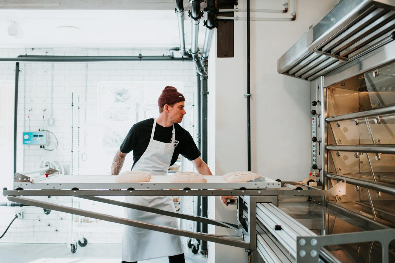 Prepping dough