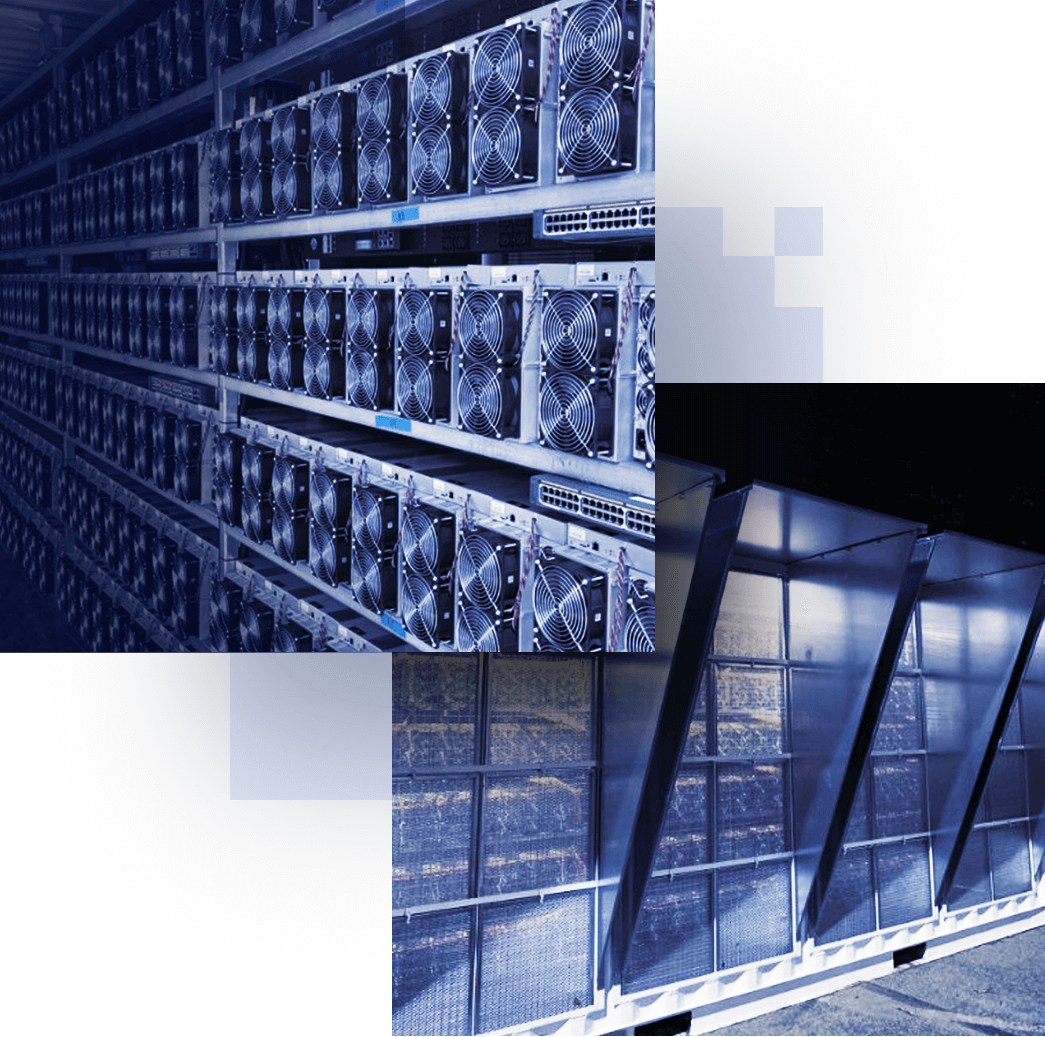 Pictures of Bitcoin Miners