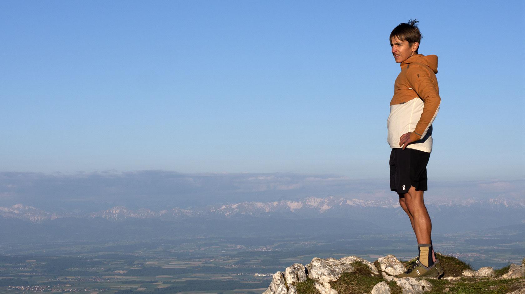 Xavier on the mountain