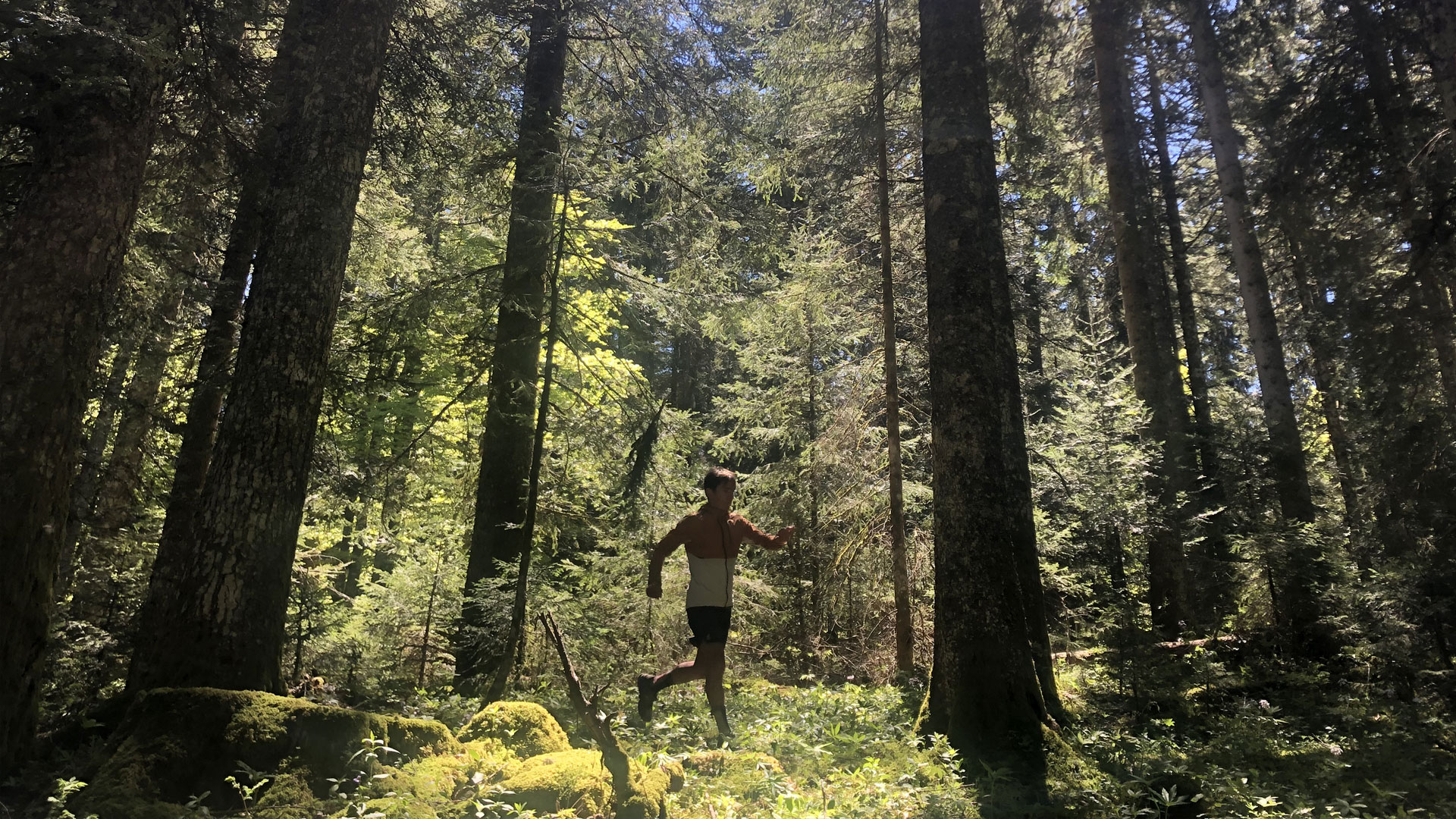 Xavier in the Jura Mountains