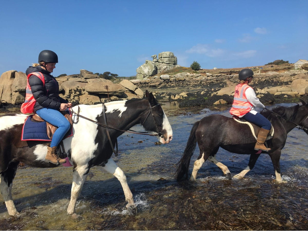 horse riding on the isles of scilly