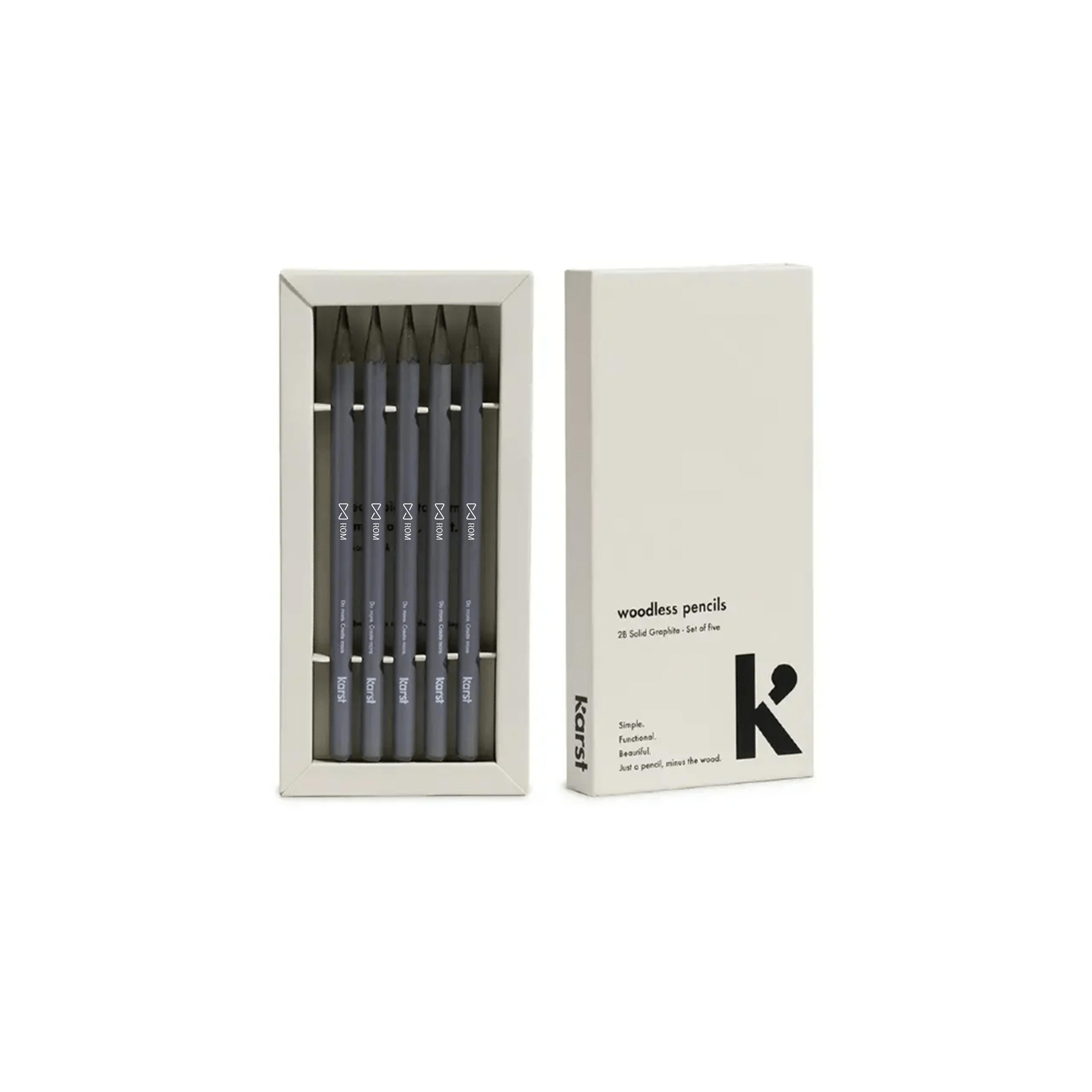 Karst woodless pencils