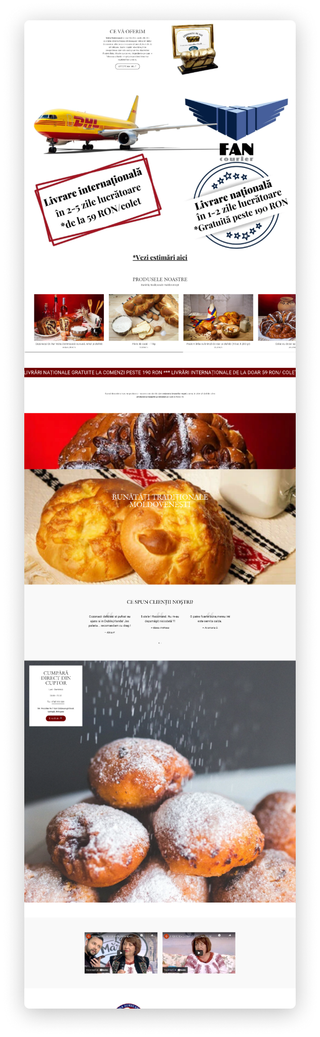 An image representing a homepage of a website