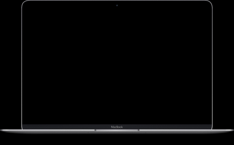 a macbook pro showcasing the portfolio image