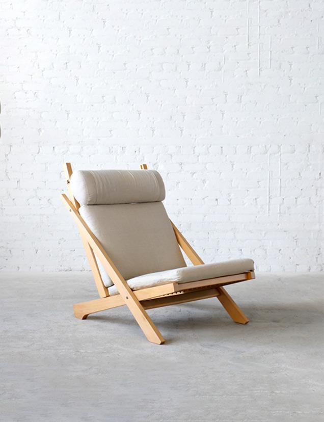CH3 Carl Hansen and Son Beech Lounge Chair