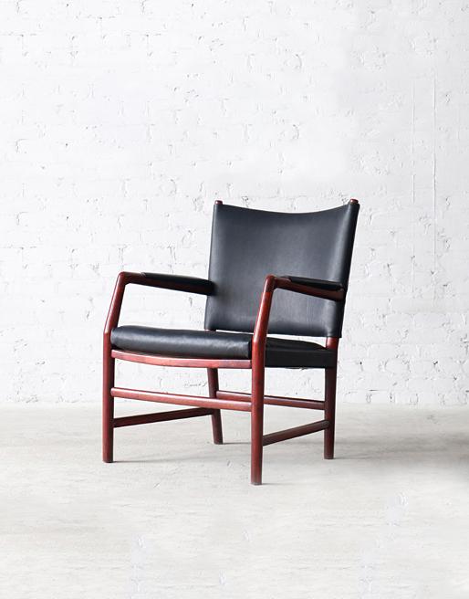"B123 Plan Møbel ""Radhus"" Oak Easy Chair"