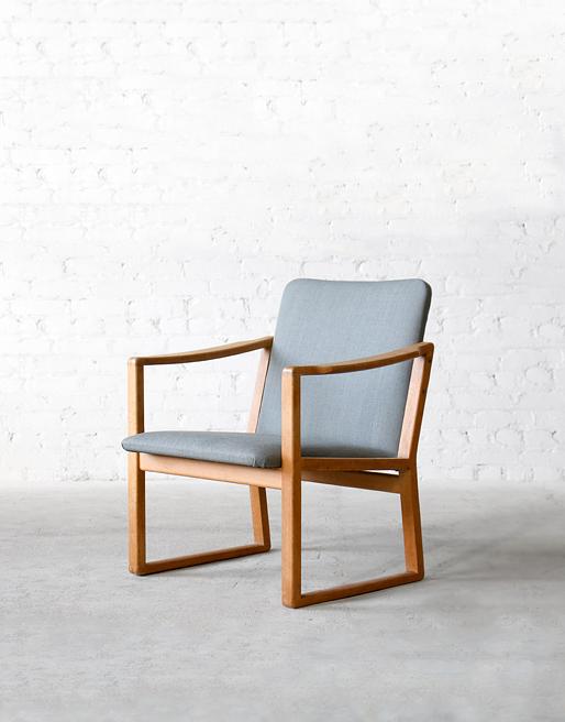 #233 Fredericia Oak Easy Chair