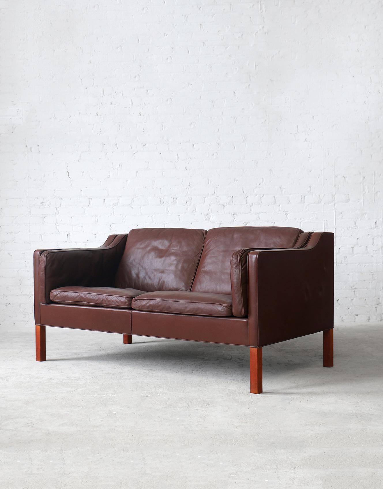 #2212 Fredericia Leather Sofa
