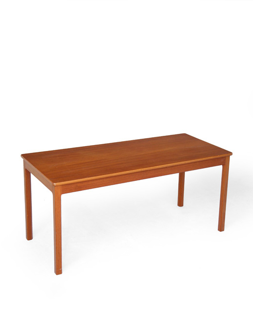 Willy Beck and Morten Olsen Mahogany Coffee Table