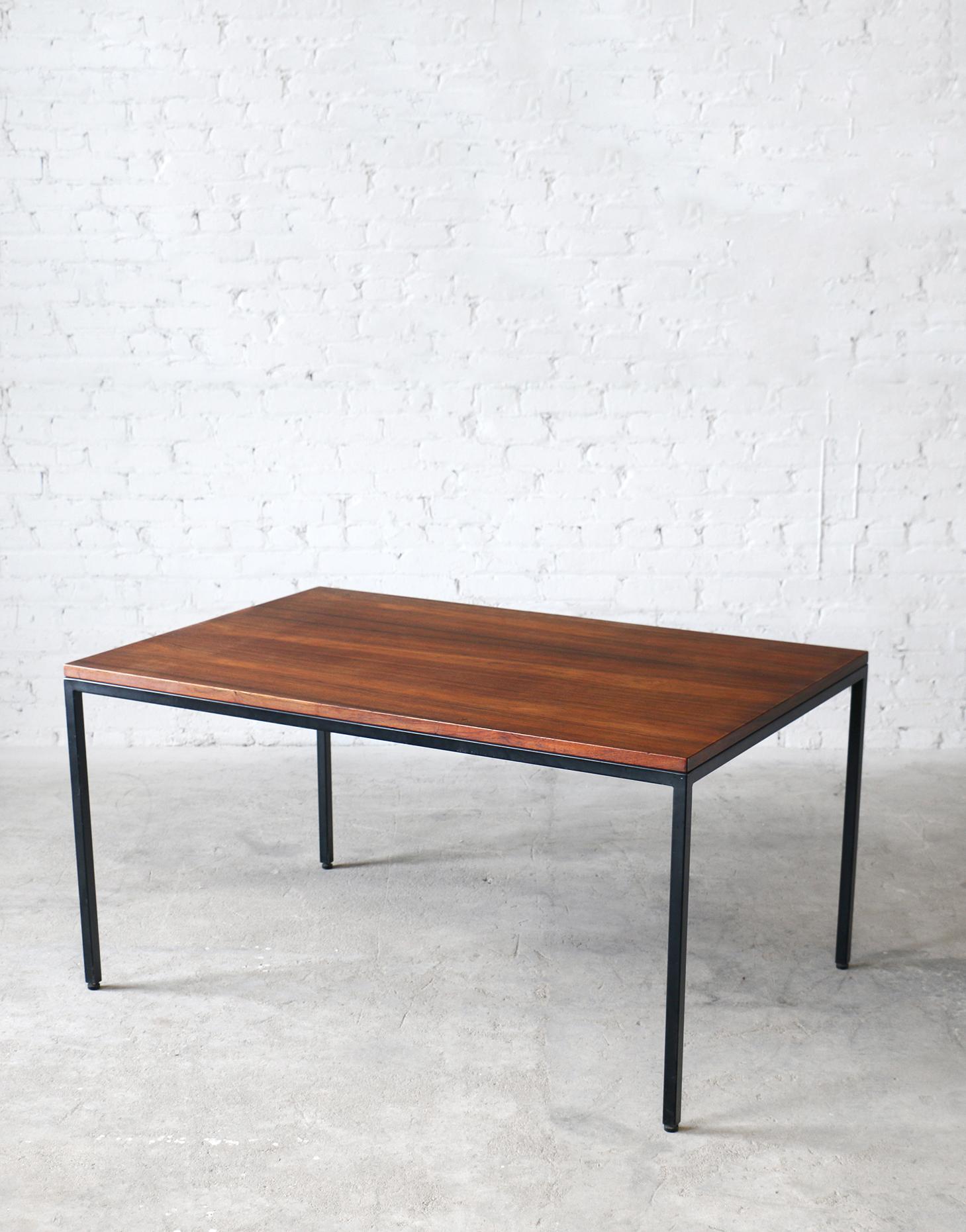 Hingelberg Rosewood & Steel Work Table