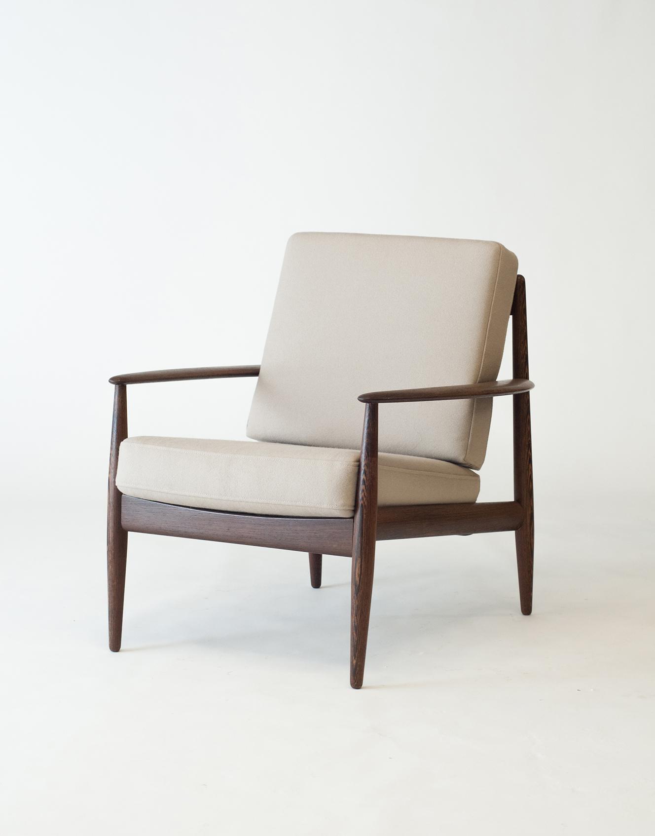 #128 Wenge Easy Chair Prototype