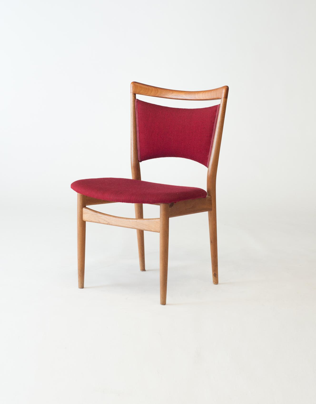 Søren Willadsen SW86 Teak and Oak Dining Chair