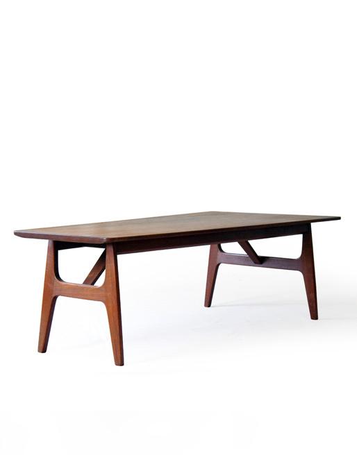 Thorald Madsens Solid Teak Coffee Table