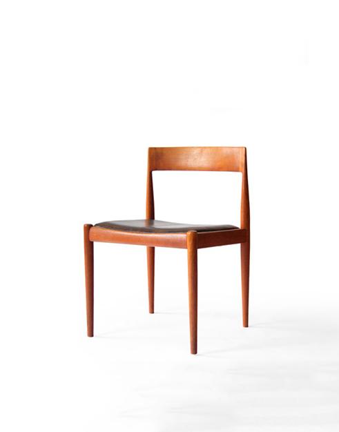 #4410 Fritz Hansen Teak Dining Chairs