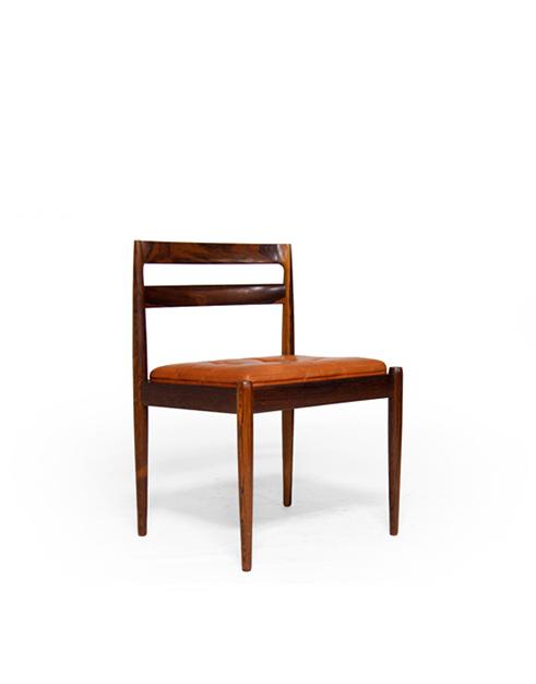 #301 Magnus Olesun Rosewood Dining Chairs (4)