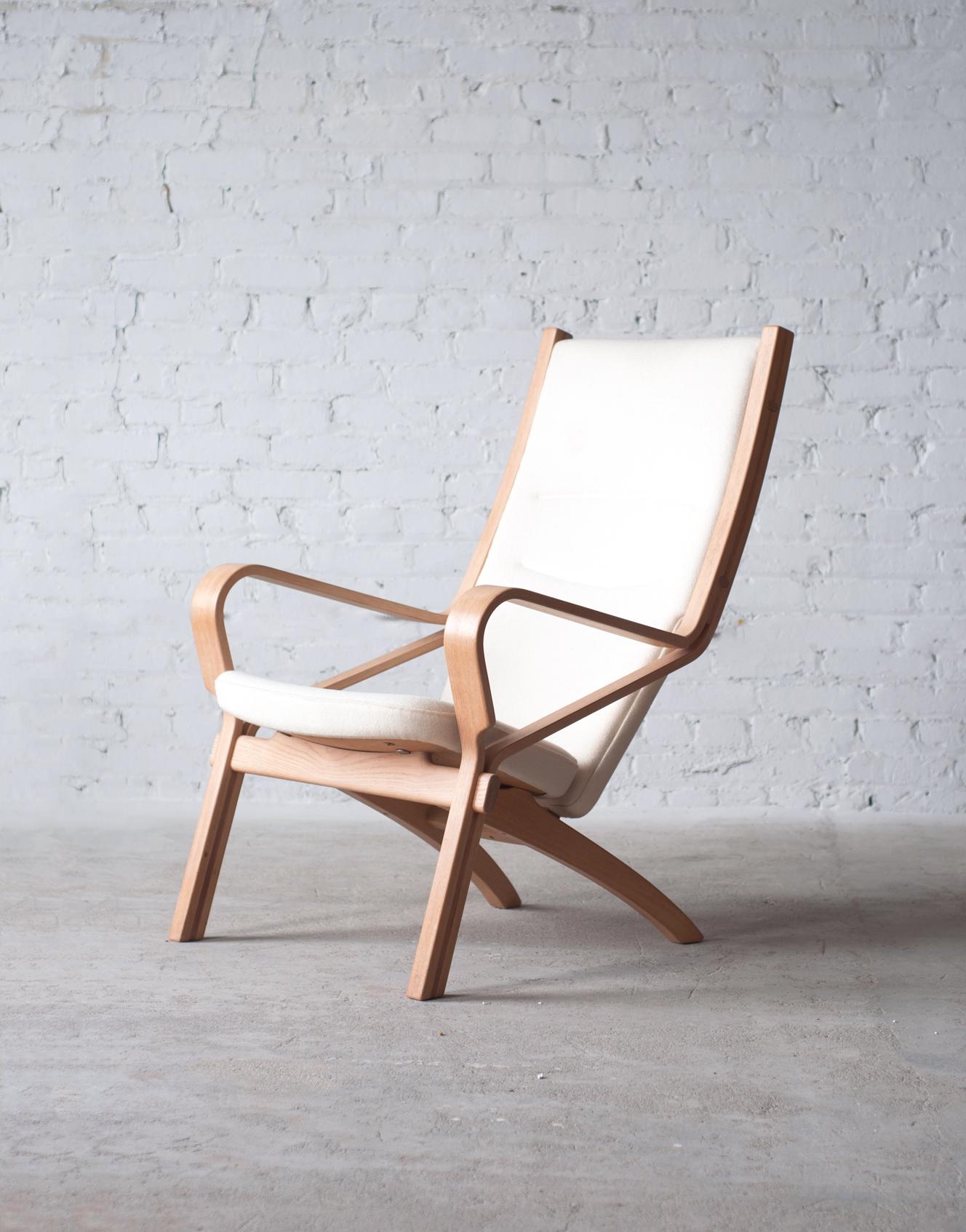 JH477 Ash Easy Chair