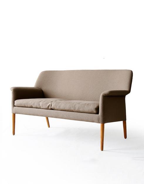 Willy Beck Beech Sofa / Settee