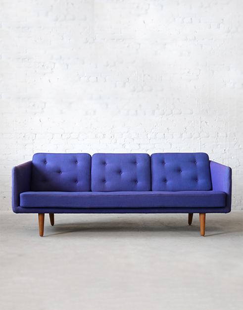 #201 Fredericia Oak Sofa
