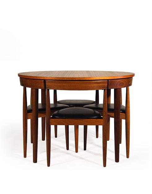 Frem Rojle Teak Dining Table Set