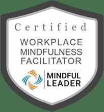 Certified Workplace Mindfulness Facilitator badge