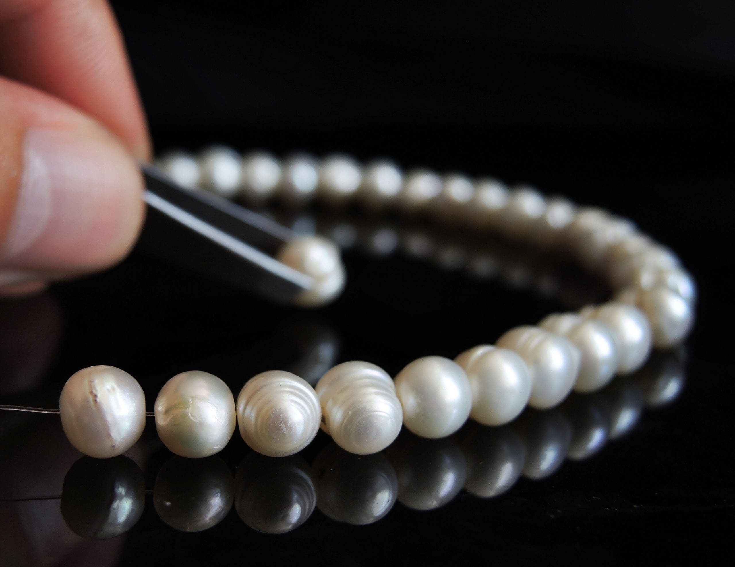 pearl knotting services in Yelm