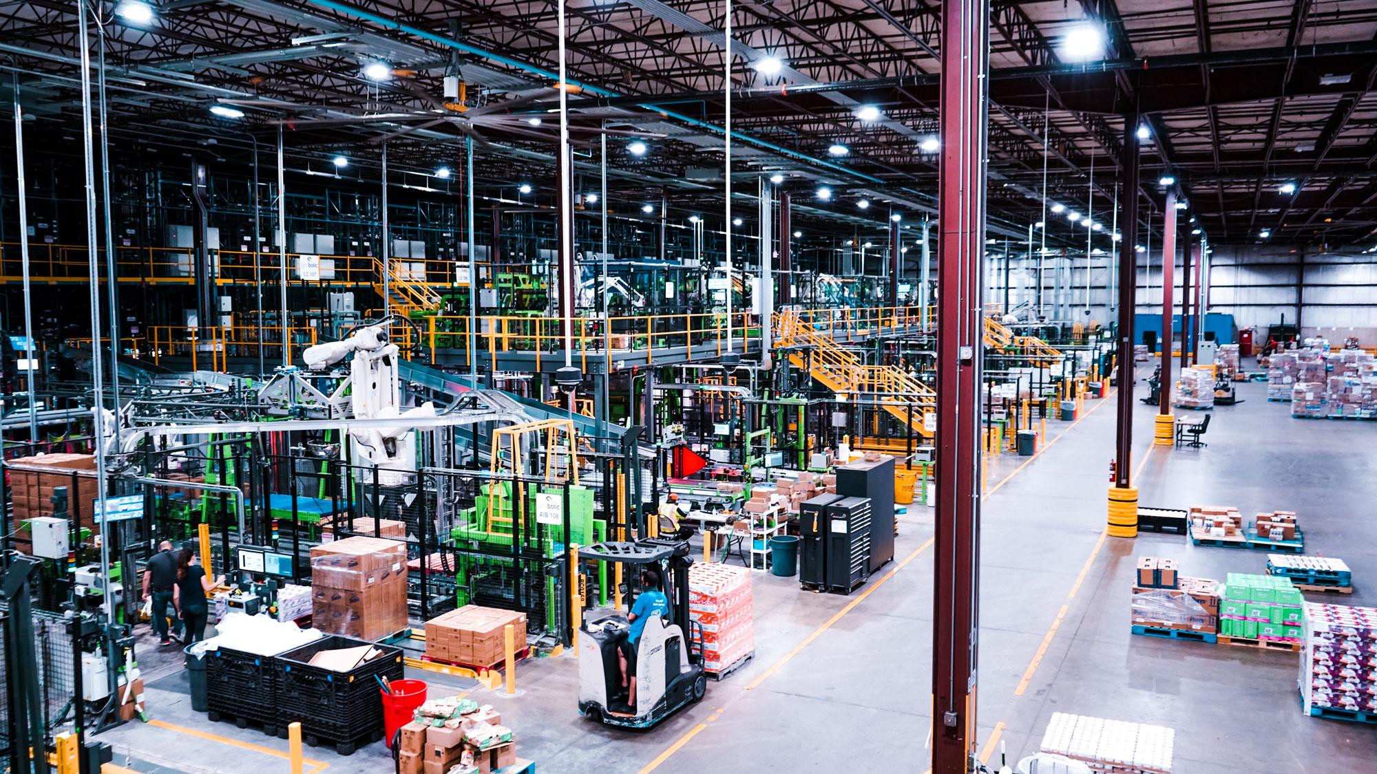 Full Symbotic Warehouse Automation System Photo
