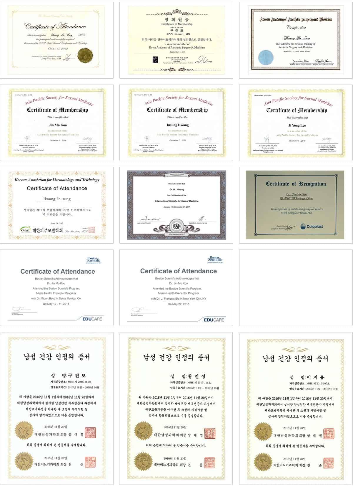 proud certifications 2